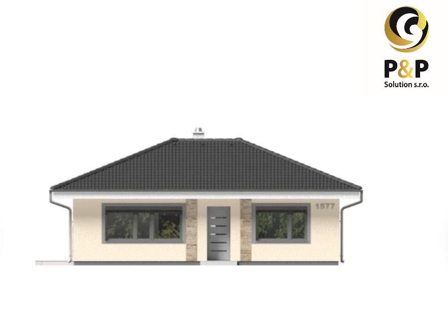 NOVOSTAVBA rodinný dom typ bungalov Geča