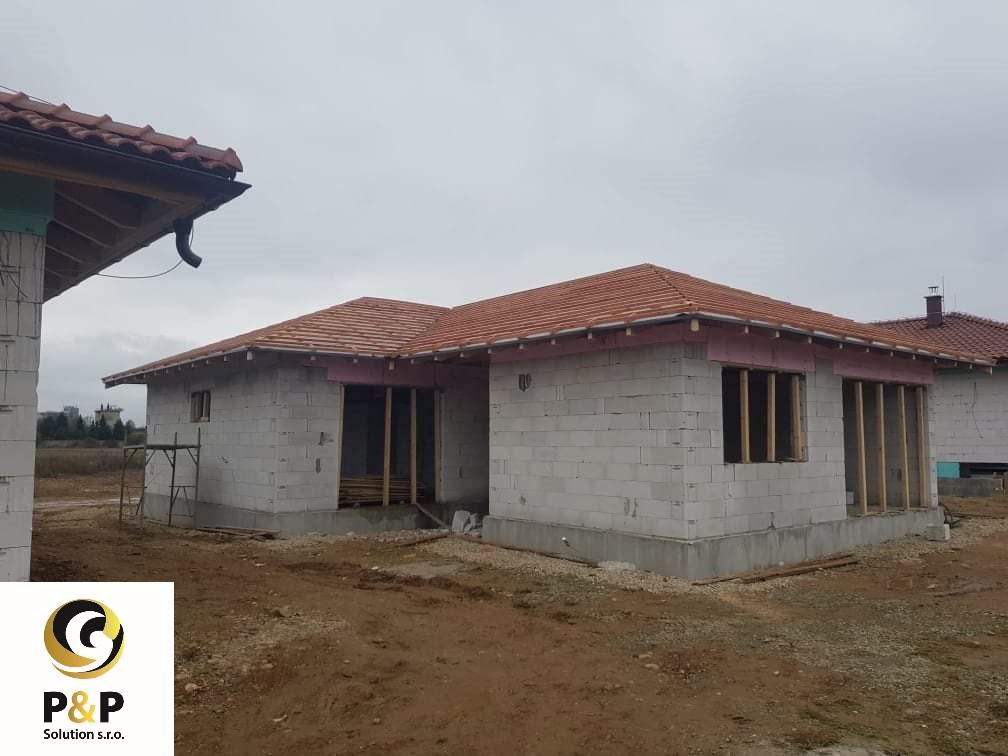Novostavba rodinného domu Geča
