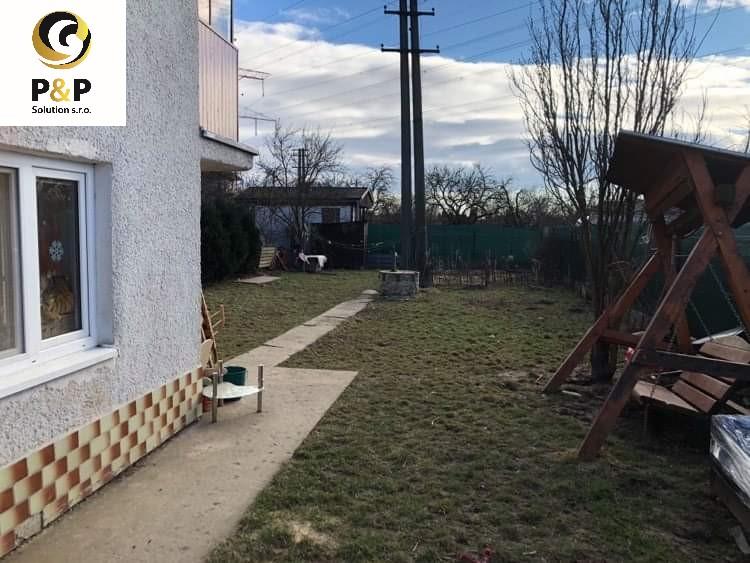 Celoročne užívateľná chata v mestskej časti Košice – Šaca