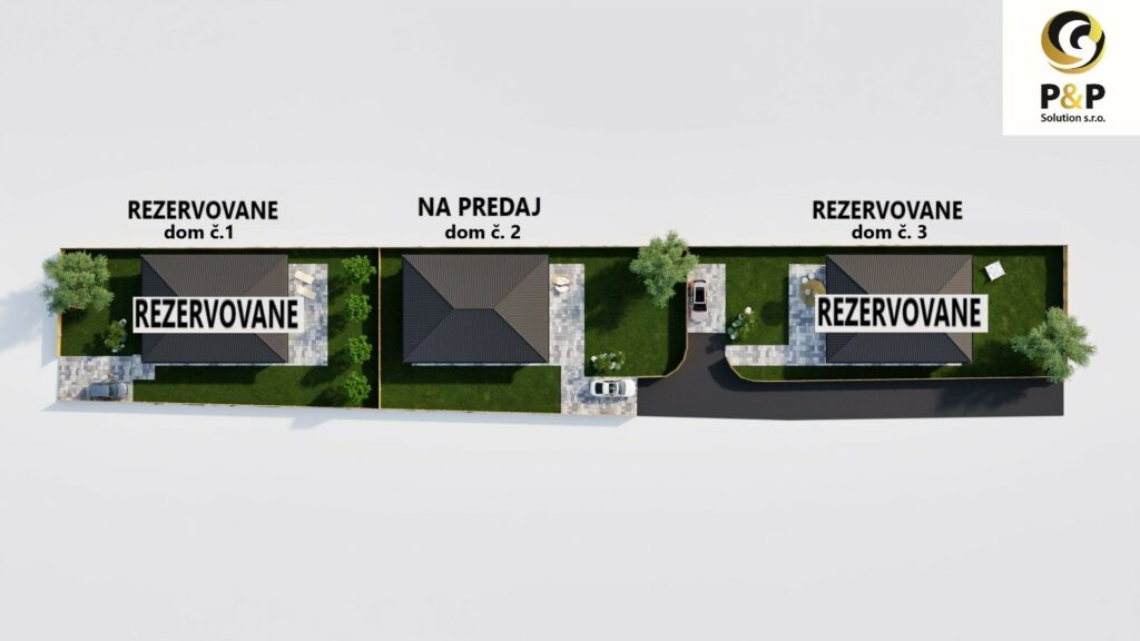 Novostavba rodinný dom typu BUNGALOV v obci Veľká Ida, P&P Solution s.r.o.